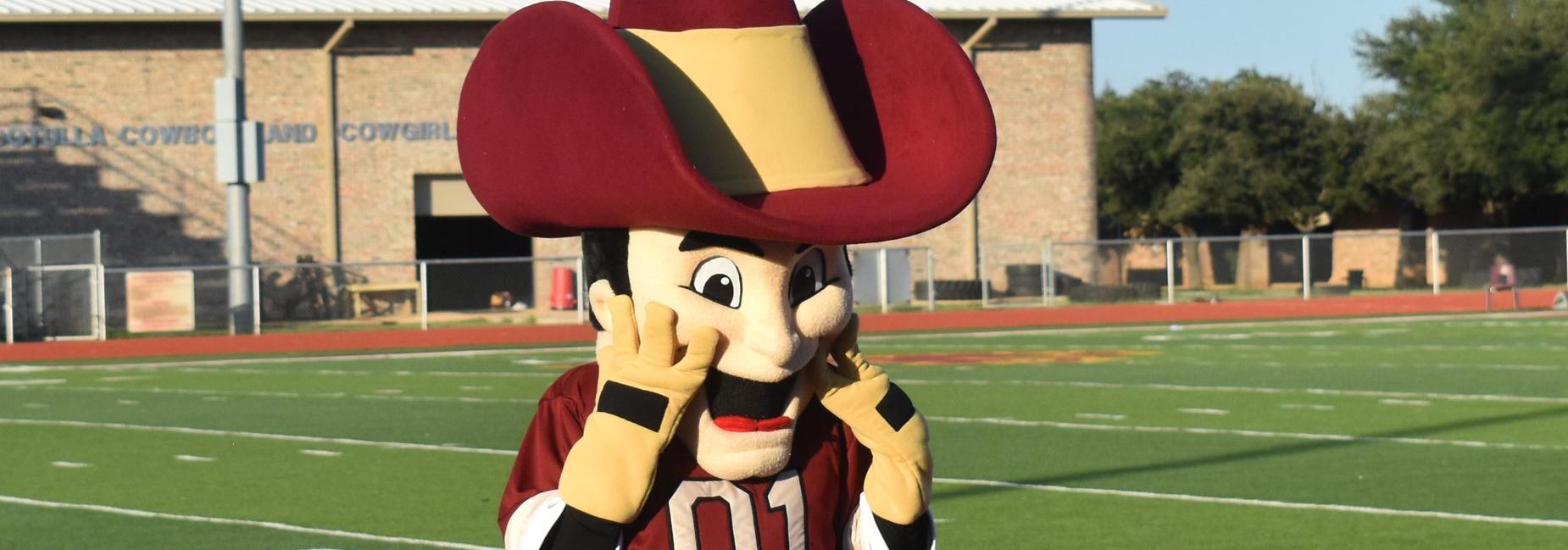 mascot cowboy cody