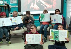 Students in the East Cheatham Elementary School Diverse Learners classroom have become published authors through a national student publishing program.