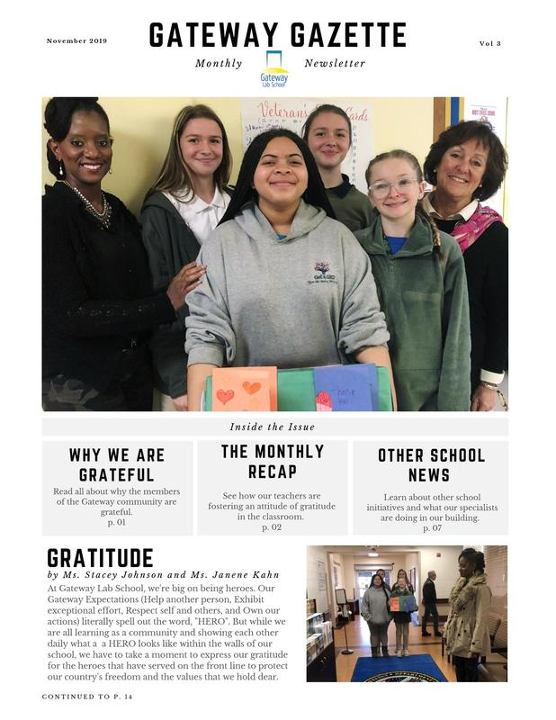 Gateway Gazette November Review Featured Photo