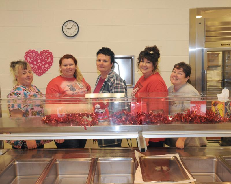 Picture of TPES Cafeteria Staff