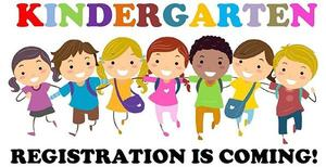 clipart of students in a line for kindergarten registration