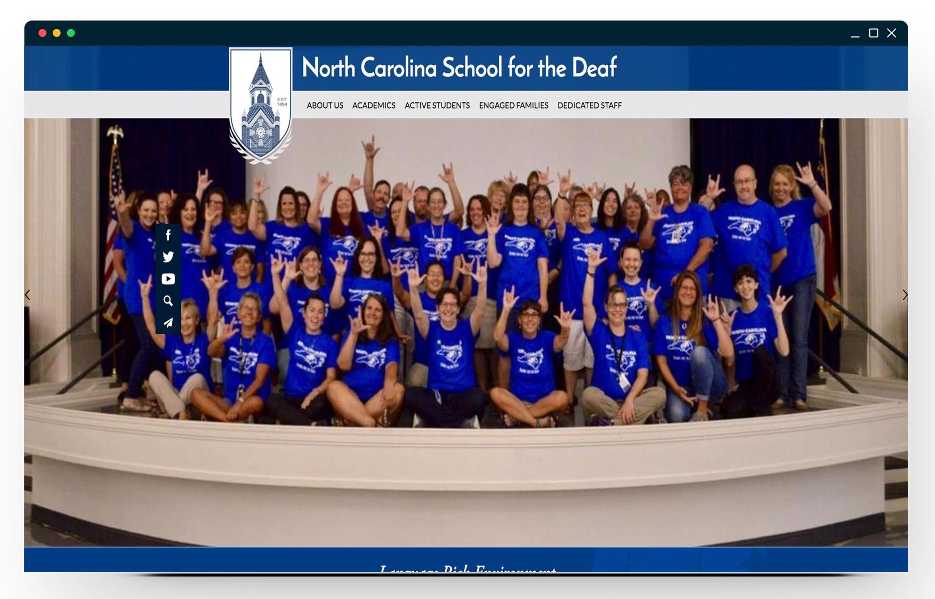 The North Carolina School for the Deaf