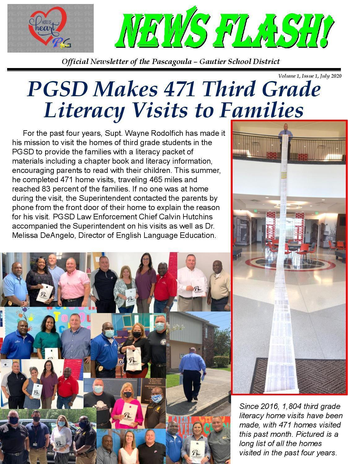 Vol. 1, Issue 1  Literacy Visits