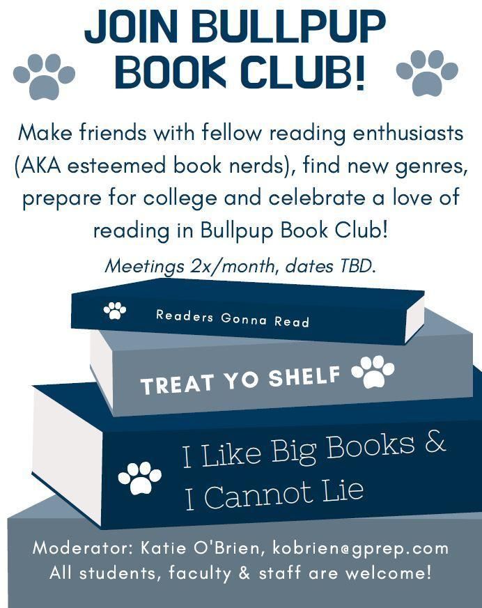 Join Bullpup Book Club