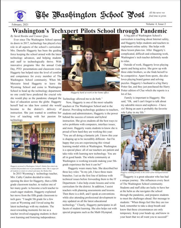 Thumbnail of the Washington School Post
