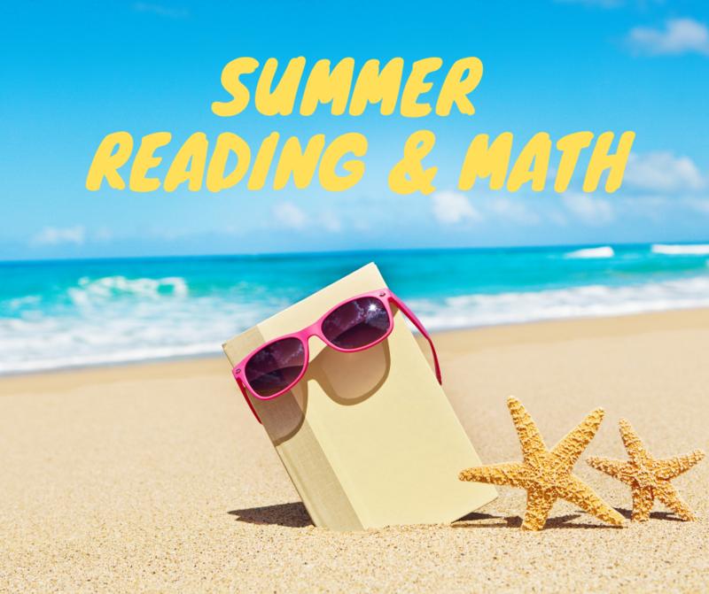 Summer Reading & Math Information Thumbnail Image