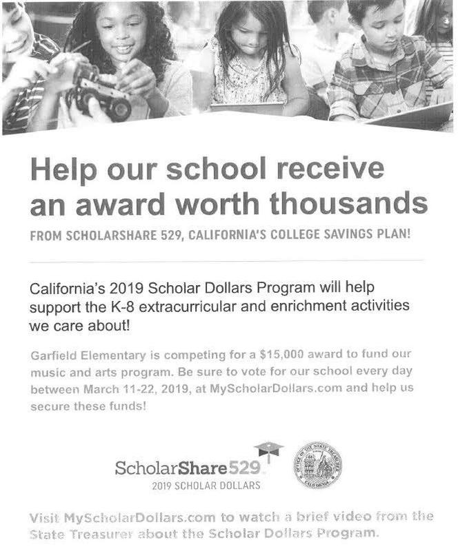 CLICK HERE TO VOTE NOW!  ScholarShare529 now through 3/22/19 Featured Photo