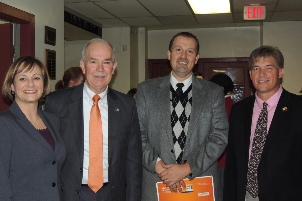 Pam Smith, Dr. Steven Staples, Dr. Keith Perrigan, & Gary Ritchie