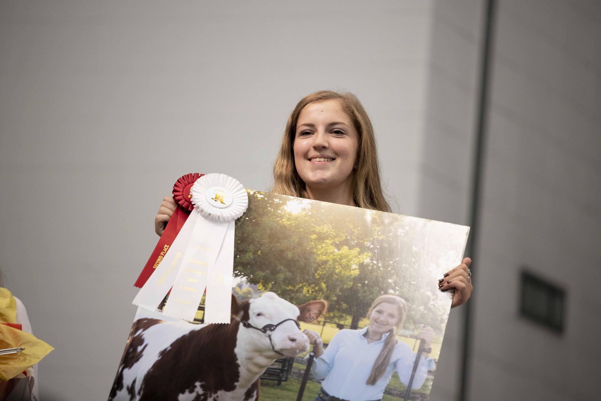 Deer Park FFA students at Pasadena Rodeo Auction