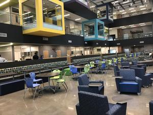 Manor New Tech Middle School interior.
