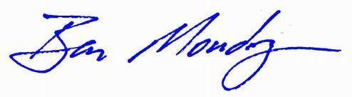 Ben Moudry Signature