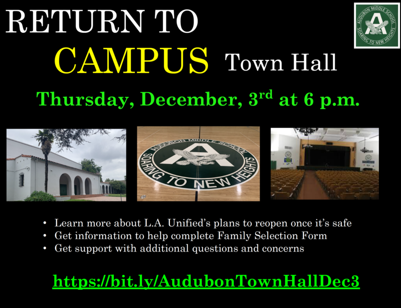 Return to Campus Town Hall (Thursday, December 3 @ 6pm) Featured Photo