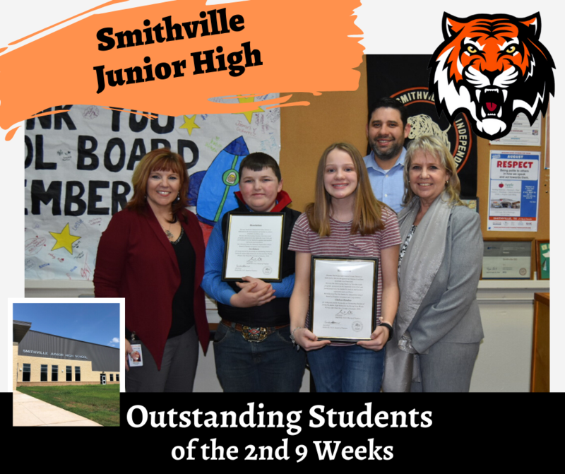 2nd Nine Weeks Outstanding Students