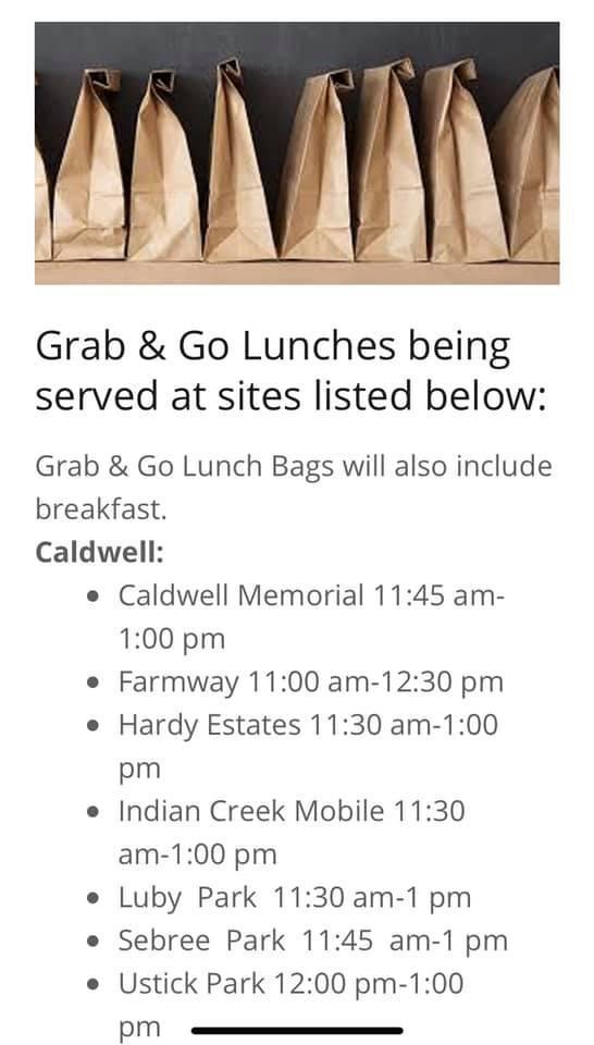 Oasis Feeding Sites- Caldwell