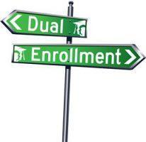 dual enrollment signs