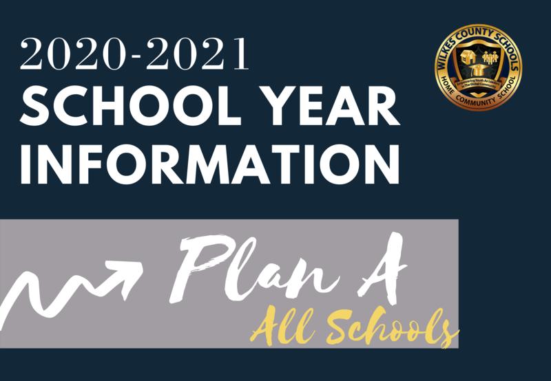 2020-2021 School Information for Plan A (All Schools)