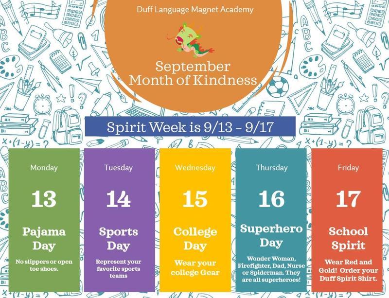 Spirit Week! Thumbnail Image