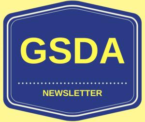 GSDA logo newsletter
