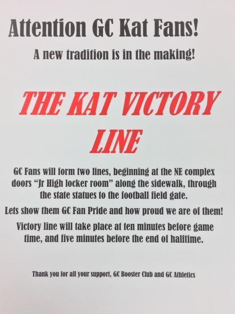 Bearkat Victory Line info (Starting on Aug. 31) Thumbnail Image