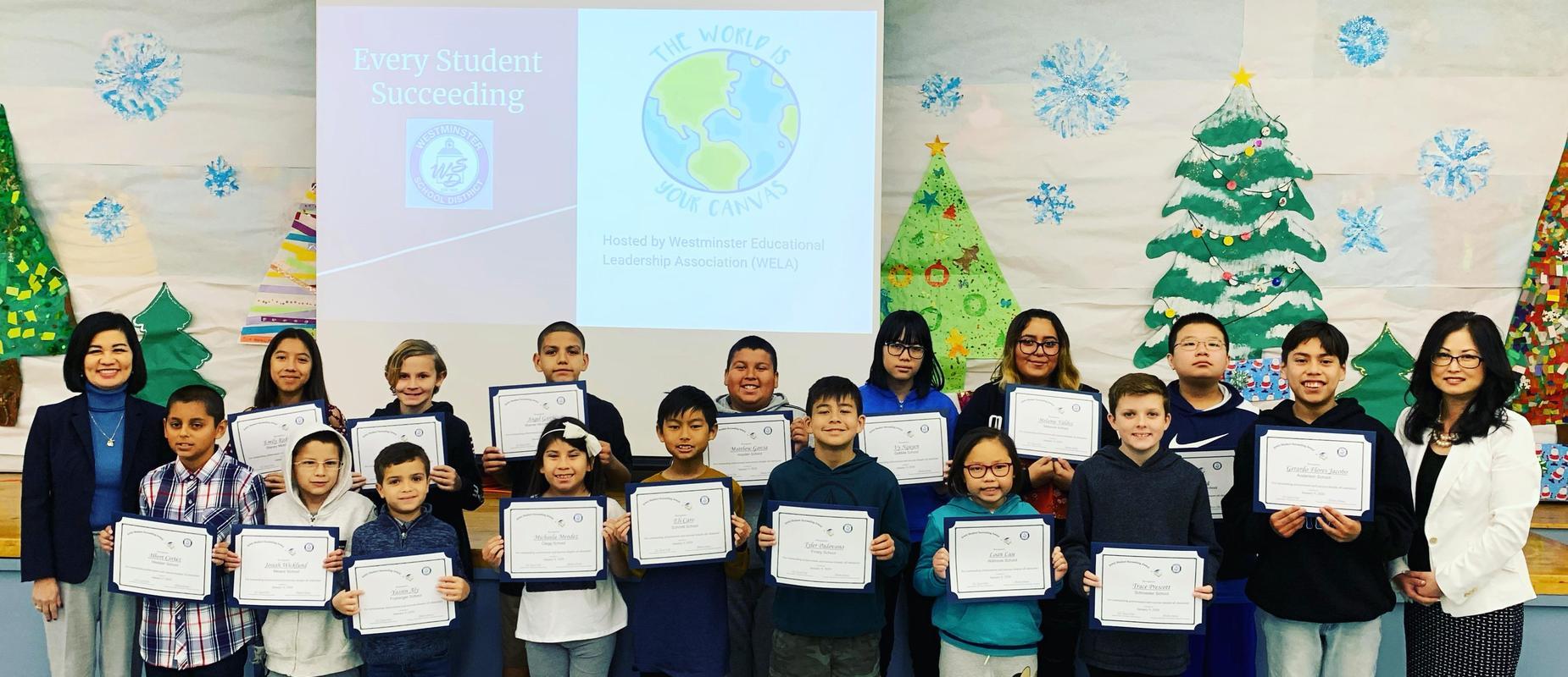 2019-2020 Every Student Succeeding Awards