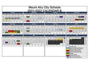 Primary Calendar 2022.Tharrington Primary School