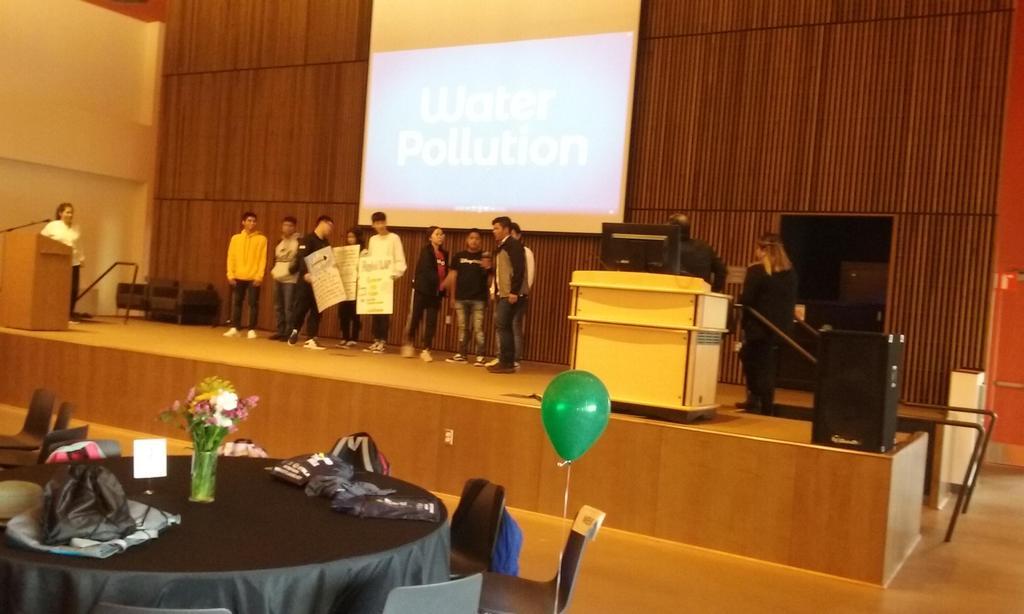 LAP Students presenting at Culmination May 18, 2019