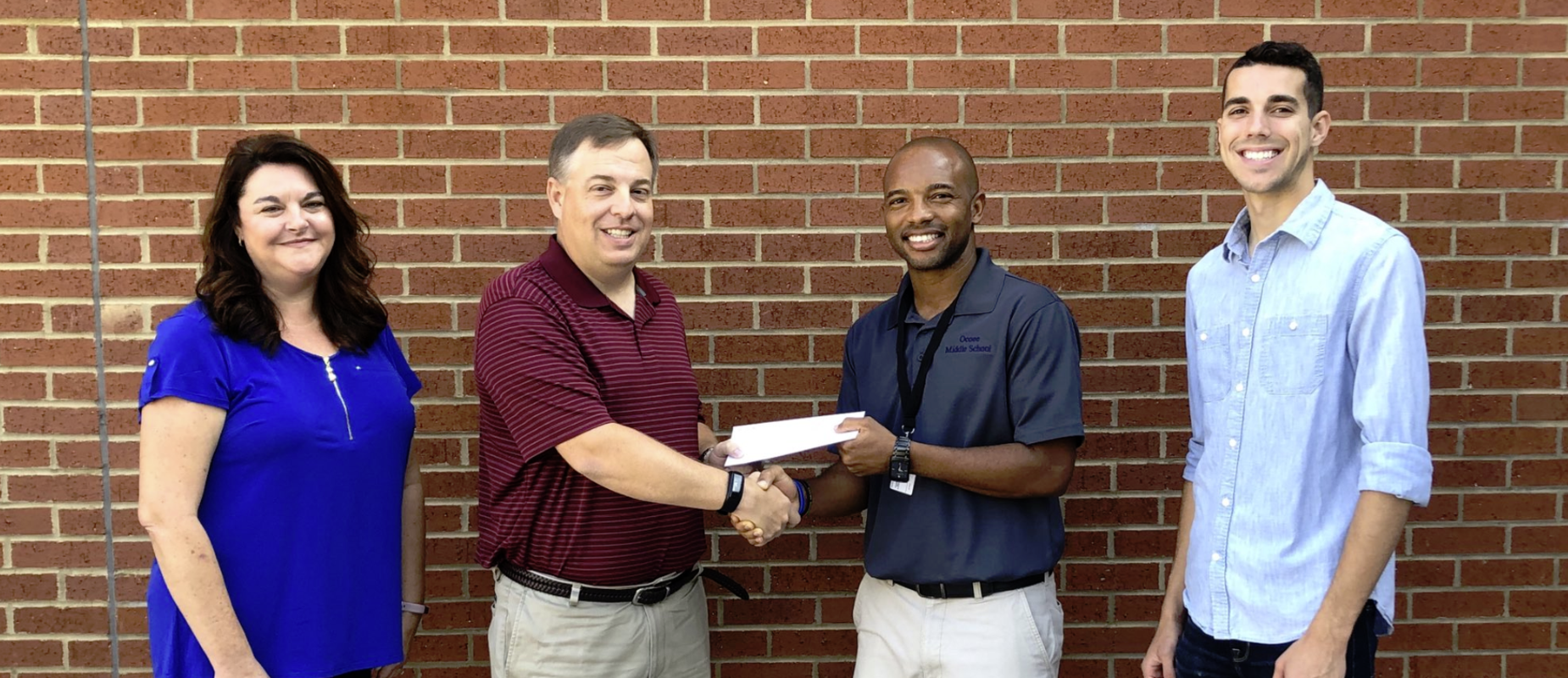 OMS receives STEM grant from Wacker