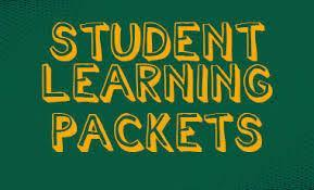 Student Learning Packets