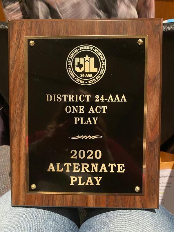 DISD Theater award