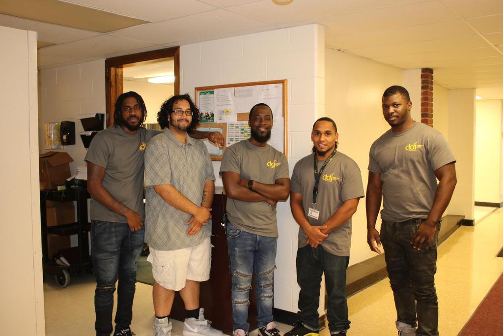 Group photo of staff enjoying DSP week