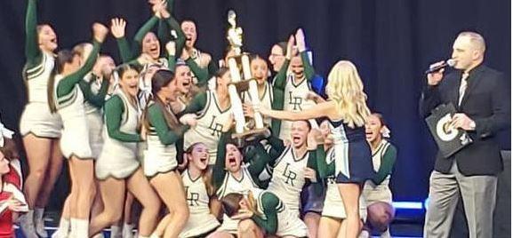 LRHS Cheerleaders win Championship