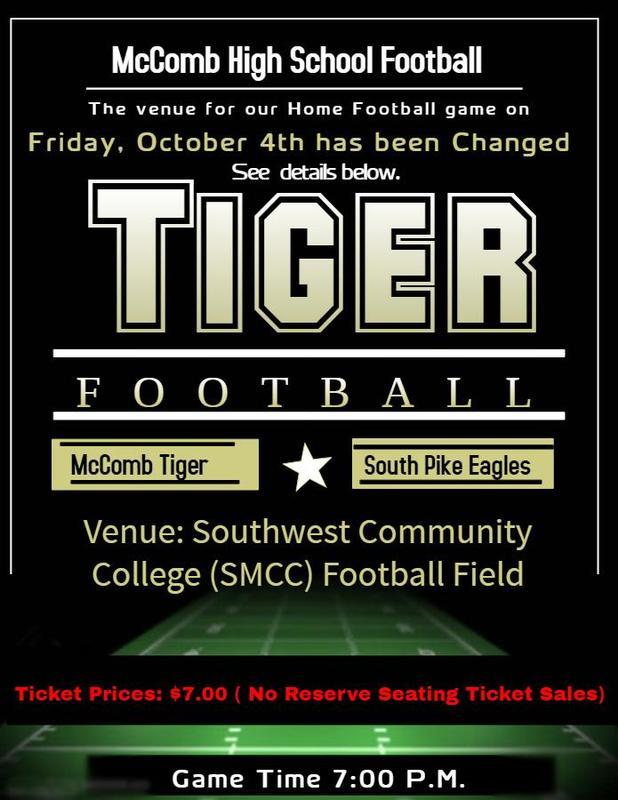 McComb High School Football News Vs South Pike 2019!  #It'sComeBackTime