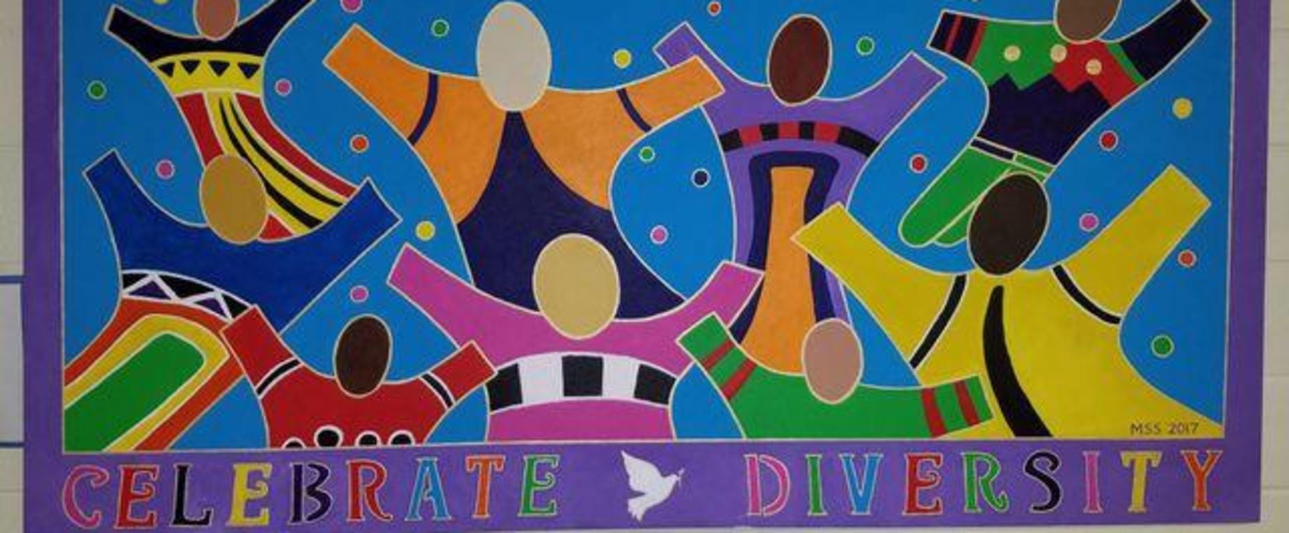 Celebrate Diversity Mural