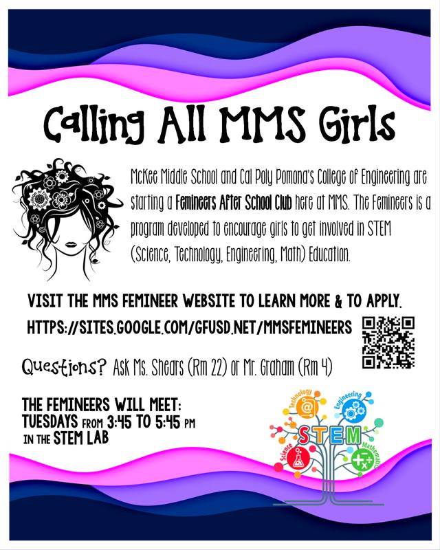 FEMINEERS Club!  Join now! Thumbnail Image