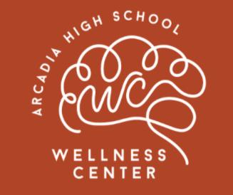 New Arcadia High Wellness Center logo by Arcadia High Students Ashley Lin and Elena Chan
