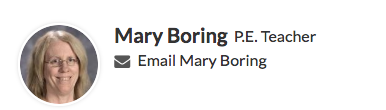 Email Mrs. Boring
