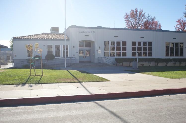 Outside Garfield School