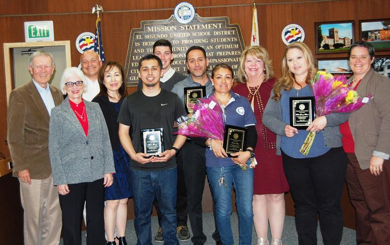 2017-2018 ESUSD Classified Employees of the Year Featured Photo