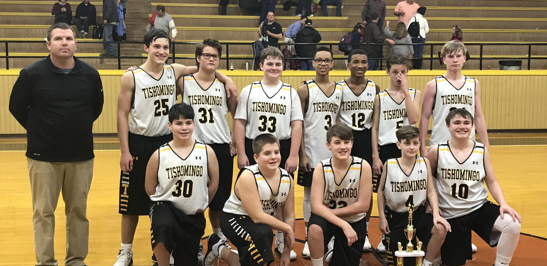 County Champs - Tishomingo 8th Grade Boys