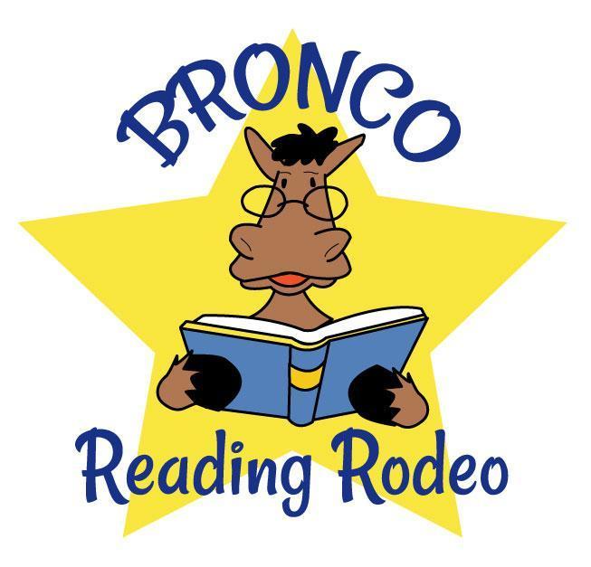 Bronco Reading Rodeo Logo