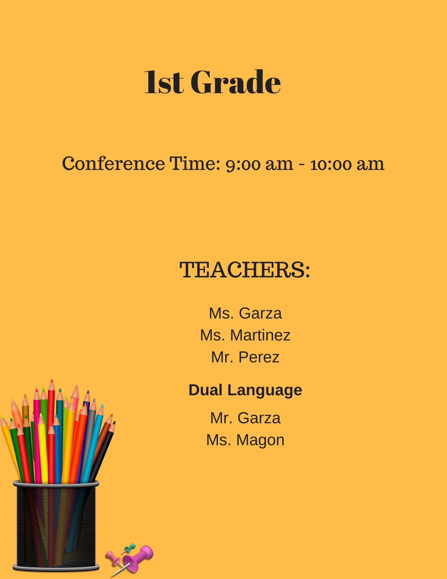 1st grade landing page
