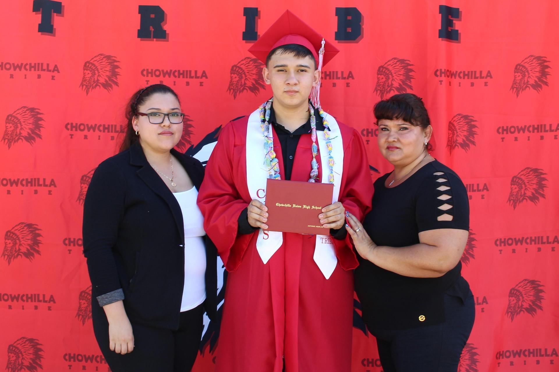 Antonio Aguilar and family