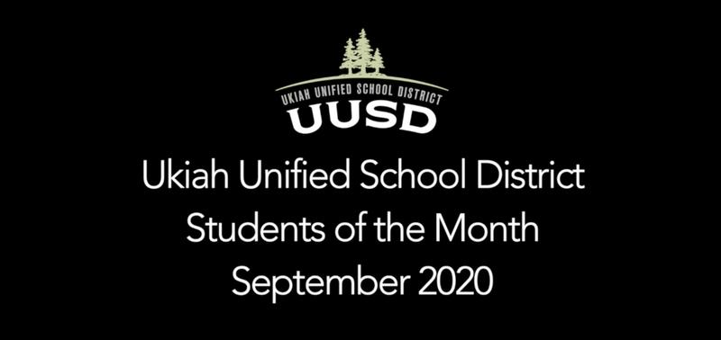 UUSD Students of the Month September 2020