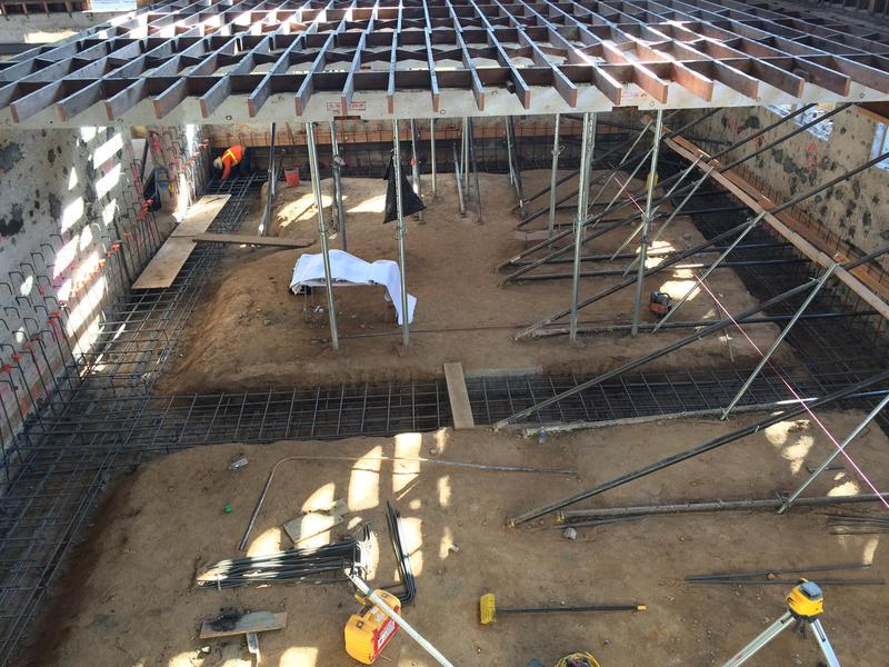 SPMS Gymnasium Rehabilitation Project Update - October 2019 Featured Photo