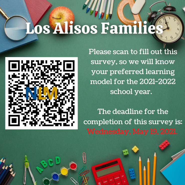 Learning Model Survey for 2021-2022 Featured Photo