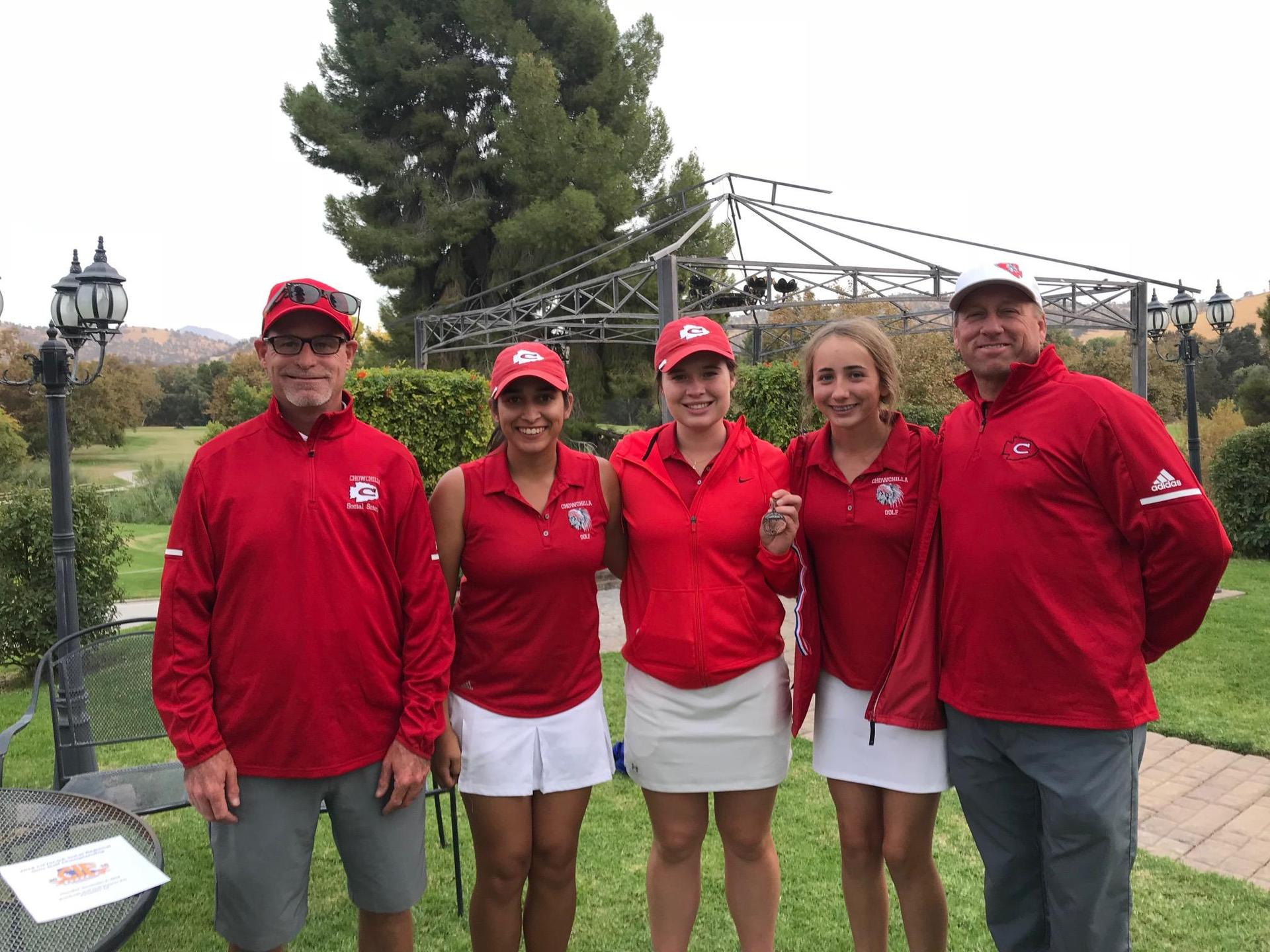 Coaches and Golfers at the Valley Championships