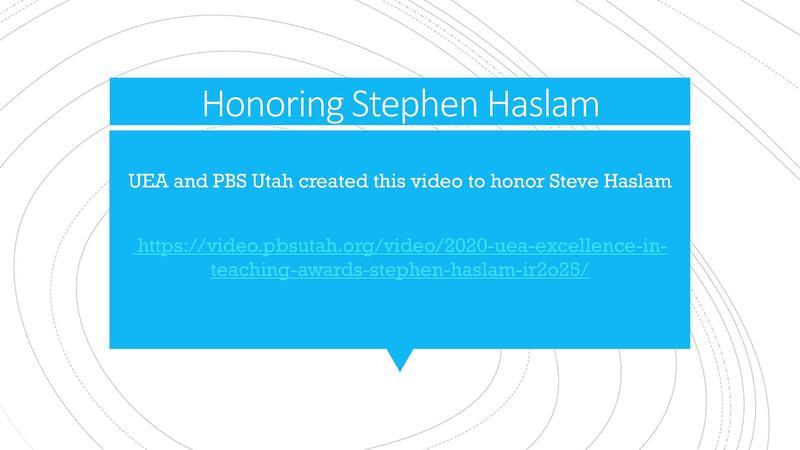 Honoring Steve Haslam