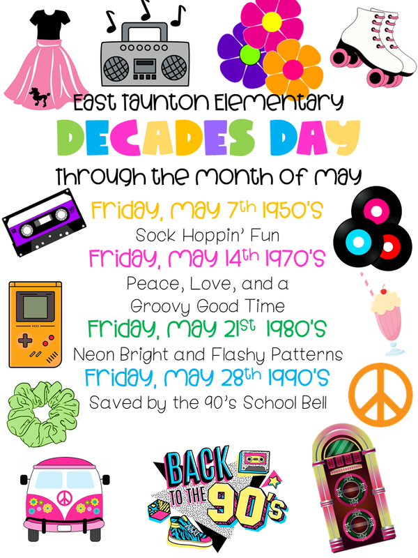 Decades Day Through May Featured Photo