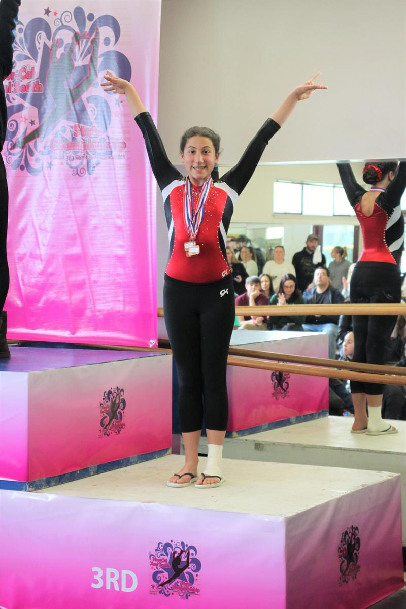 Bridgette is our gymnastic superstar! Thumbnail Image