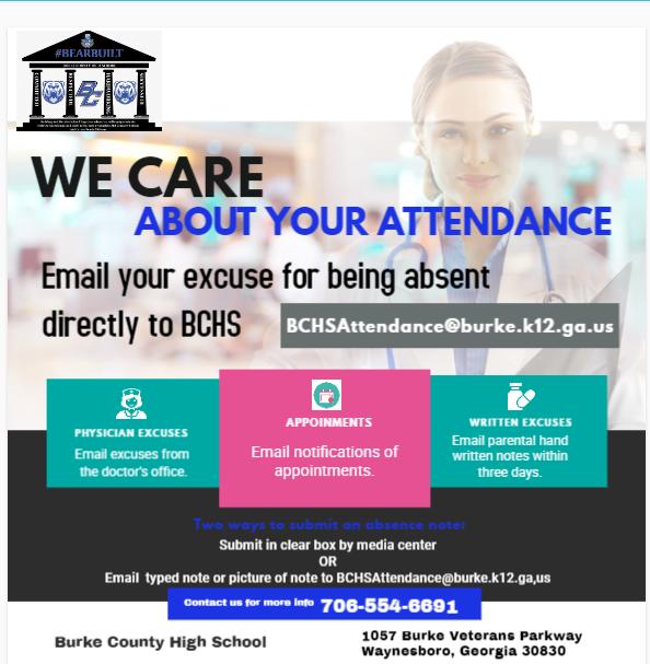 Flyer for Attendance